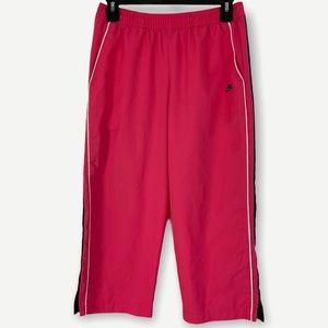 Nike Hot Pink Athletic Wide Leg Capris